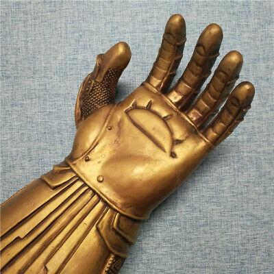 Thanos Infinity Gauntlet Glove Cosplay Avengers Endgame Infinity War Flash LED 6
