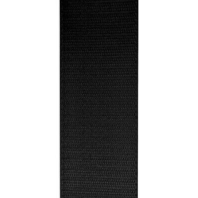 "VELCRO™ 2/"" Inch Wide Black Hook and Loop Sew On Type 24/"" Inch Lengths Uncut"