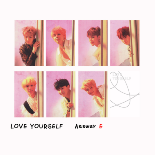 KPOP Bangtan Boys Album MAP OF THE SOUL PERSONA Boy with Luv Photo Card 10