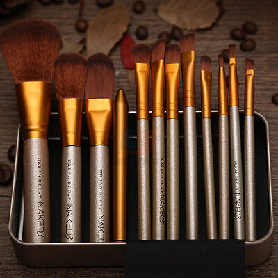 12pcs Makeup Cosmetic Brushes Set Powder Foundation Eyeshadow Lip Brush Tool 5