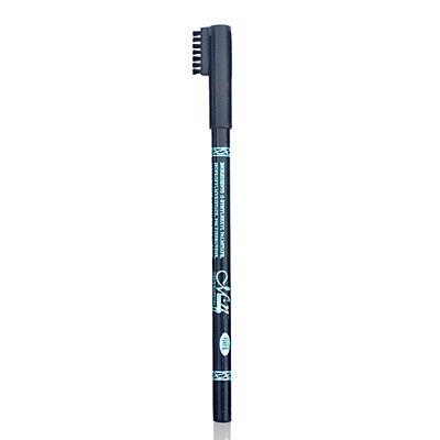 MENOW Black Eyebrow Pencil with Comb Waterproof Long Lasting Eye Makeup Cosmetic 4