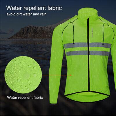 Ciclismo Giacca Antivento Water Repellente MTB Cappotto Protezione solare Tops