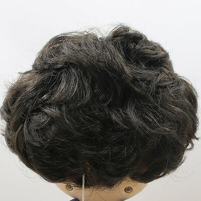RBL Scalp /& Dome Dark Green Curly Hair Side Parting Hair R011 For Blythe Doll