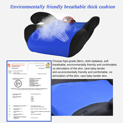 Car Booster Seat Chair Cushion Pad For Toddler Children Kids Sturdy 3-12 Years 9