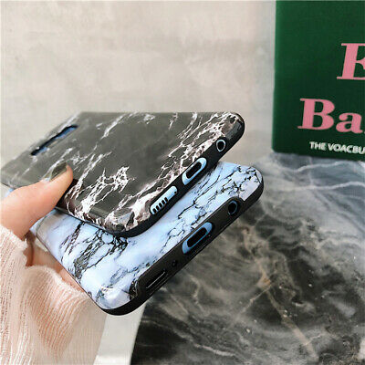 For Samsung Galaxy S8 9 Plus Note Slim Fit Marble Case Protective Phone Covers 4