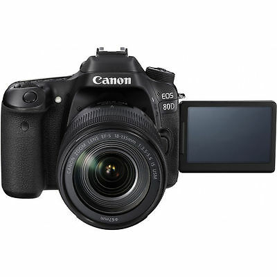 Canon EOS 80D DSLR Camera with EF-S 18-135mm f/3.5-5.6 IS USM lens 3