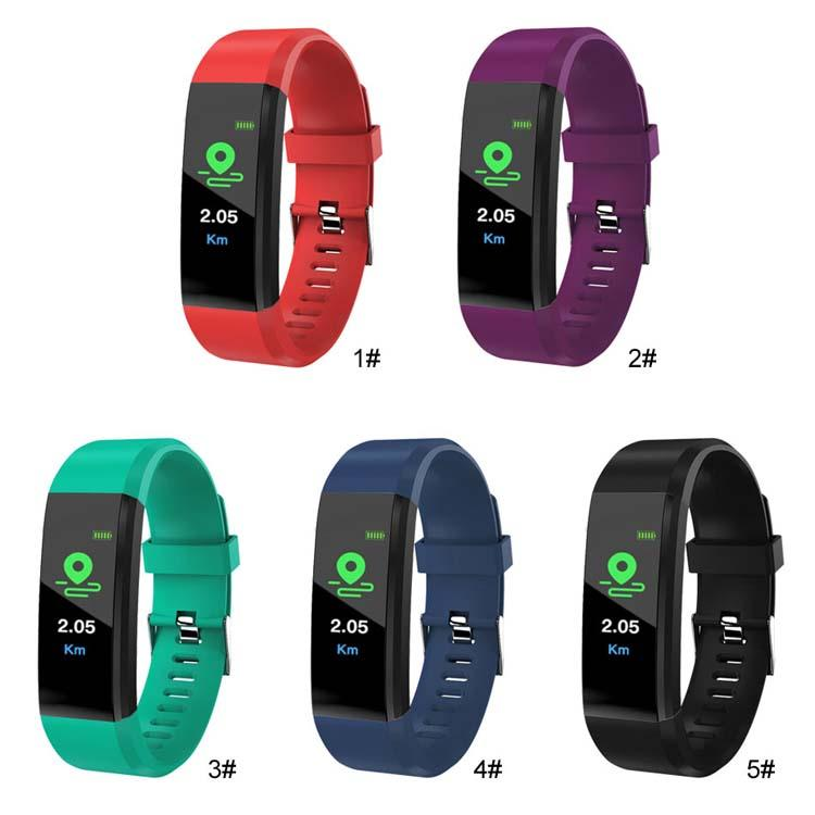 Smart Watch Bracelet Wristband Fitness Heart Rate BP Monitor iPhone Android 3