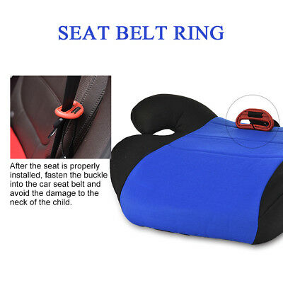 Car Booster Seat Chair Cushion Pad For Toddler Children Child Kids Sturdy 6