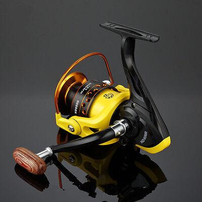 12BB Ball Bearing LeftRight Handed Saltwater Freshwater Fishing Spinning Reel HD