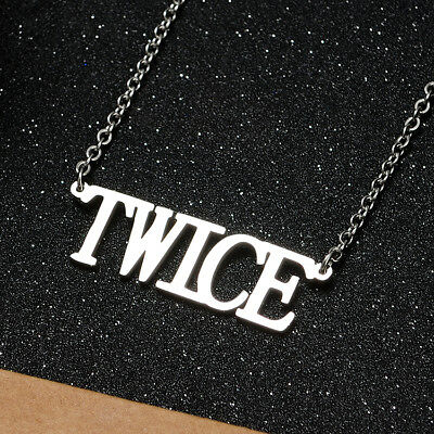 KPOP Bangtan Boys EXO GOT7 TWICE BLACKPINK NCT Steel Pendant Necklace 11