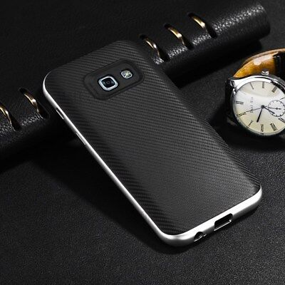 Luxury Carbon Fibre Case Silicone Protective Cover For Samsung Galaxy S6 S7 Edge 12