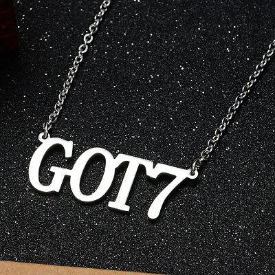 KPOP Bangtan Boys EXO GOT7 TWICE BLACKPINK NCT Steel Pendant Necklace 9