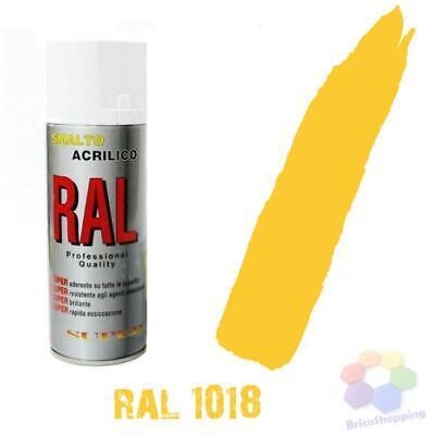 Bomboletta Spray Acrilico Colori Ral Vernice Graffiti Rapida Essiccazione 400 Ml 10