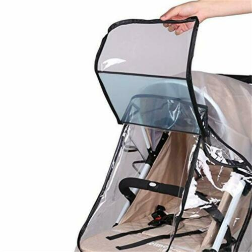 Buggy Rain Cover Universal Raincover Baby Kid Pushchair Stroller Pram Waterproof 4