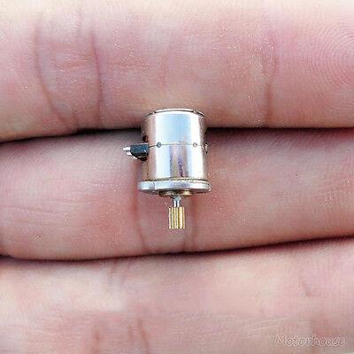 10pcs mini Micro Small 8x9.5mm 2-phase 4-wire stepper motor with copper gear 3