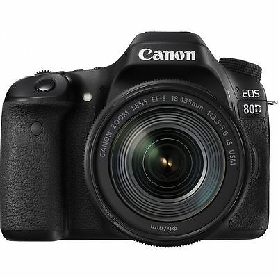 Canon EOS 80D DSLR Camera with EF-S 18-135mm f/3.5-5.6 IS USM lens 4