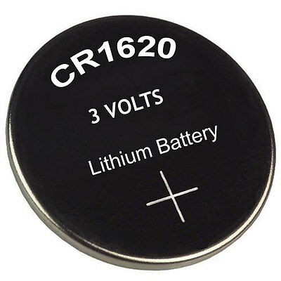 2X CR1620 Battery Blister Lithium 3V Cell/Button Batteries Sydney Local Post
