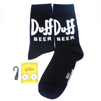 Fashion Mens Cotton Socks Lot Warm The Simpsons Cartoon Casual Dress Socks 7-12 10