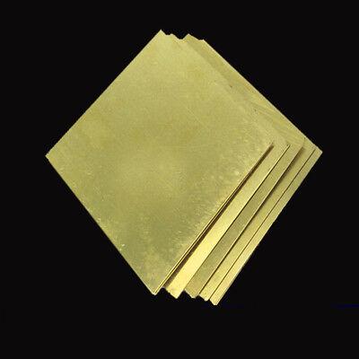 H62 Feuille de laiton de qualité Épaisseur de plaque 0,5-3mm 50-200mm 4