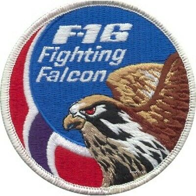 BELGIAN AIR FORCE BAF F-16 349 SQN BADGE NO RED ON BLUE
