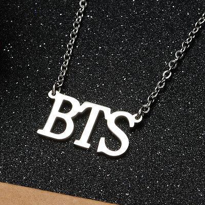 KPOP Bangtan Boys EXO GOT7 TWICE BLACKPINK NCT Steel Pendant Necklace 2