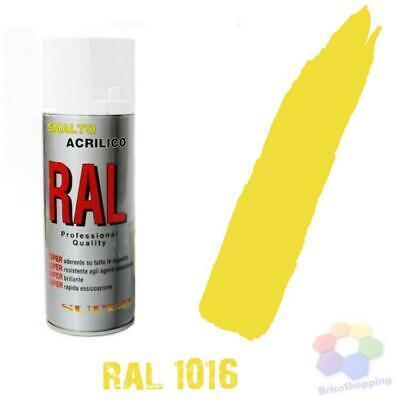 Bomboletta Spray Acrilico Colori Ral Vernice Graffiti Rapida Essiccazione 400 Ml 9