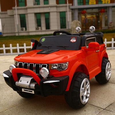 Auto Elettrica Per Bambini Macchina Jeep 2 Posti 4Wd 12V Con Telecomando Usb Mp3 5