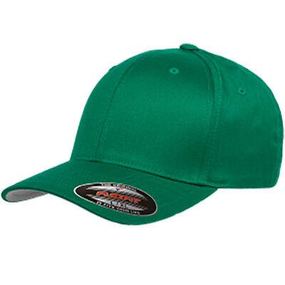 f8cf7141cdc ... FLEXFIT Structured Twill Hat FITTED Size S M L XL 2XL Sport Baseball Cap  6277