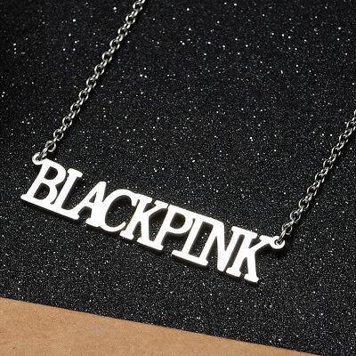 KPOP Bangtan Boys EXO GOT7 TWICE BLACKPINK NCT Steel Pendant Necklace 12