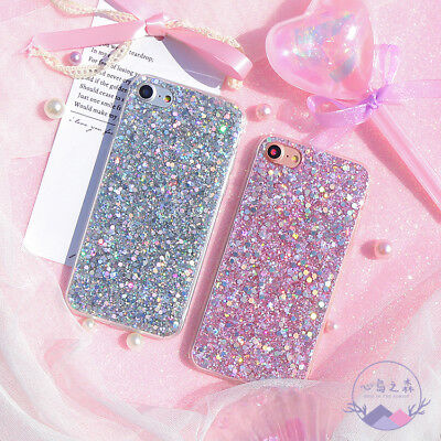 Bling Glitter Full Sparkle Protective Cute Slim Fit Phone Case Cover For iPhone 5