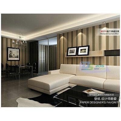 2 Von 9 10m Luxus Modern Gestreift Tapete Vliestapete TV Wand Zimmer  Ornament Dekoration