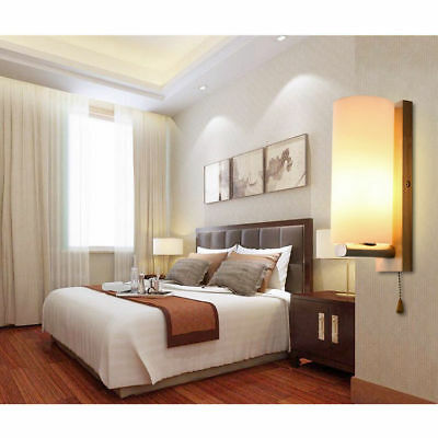 ... Mur Applique Chambre Coucher Bois Massif De Lampe Couloir/Bar Appliques  HC 7
