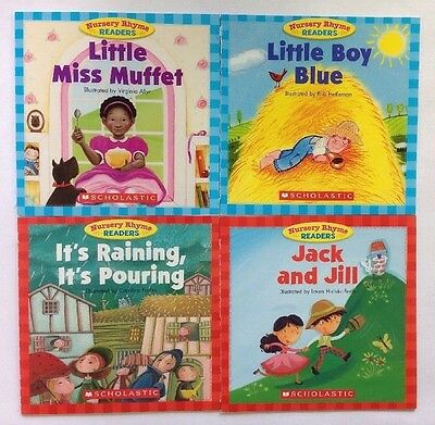 Nursery Rhyme Childrens Books Beginning Readers Lot 12 8