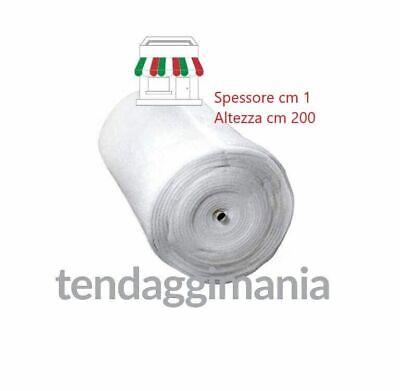 OVATTA SINTETICA TESSUTO STOFFA ALTEZZA MT2 IMBOTTITURA TRAPUNTE DACRON 3,30€ mt 4