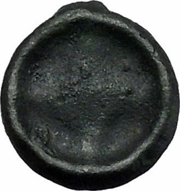 ISTROS Thrace 500BC Wheel Money Authentic Ancient Greek Coin BLACK SEA i46834 2