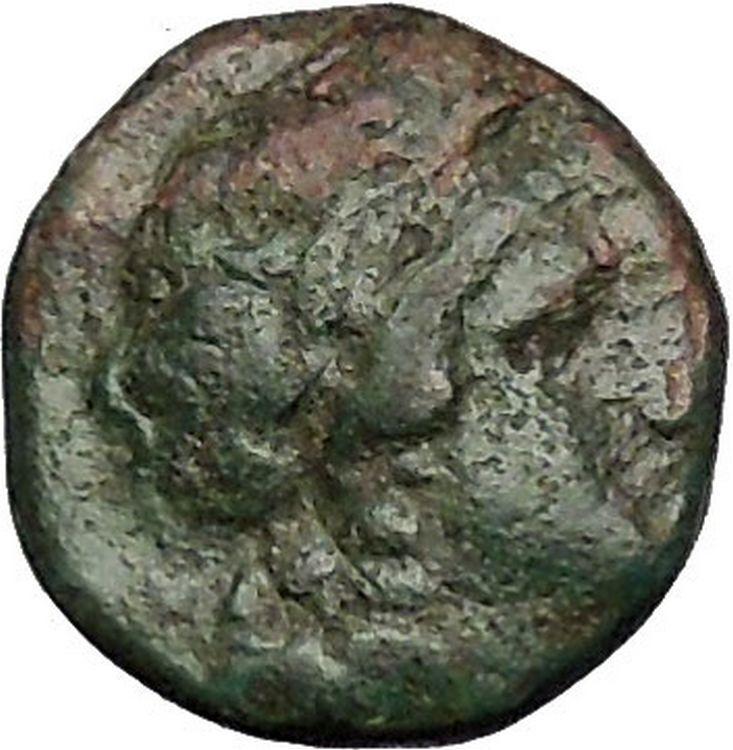 ANTIOCHOS II Theos 261BC Apollo Kithara Lyre Authentic Ancient Greek Coin i51861 2