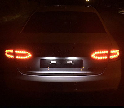 Free Shipping Ford Focus Xenon Ice White Led Number Plate Light Bulbs Error Free Mksmd