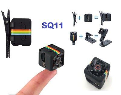 Telecamera Spia Microcamera Infrarossi Full Hd Nascosta Micro Notturna Mini Sq11 11