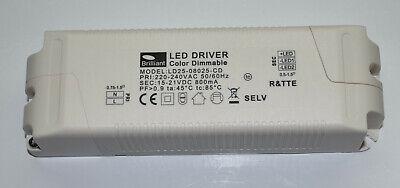 Brilliant ld25-08025-cd LED Driver transformador transformador de 15-21 V 800 ma 16,8 vatios