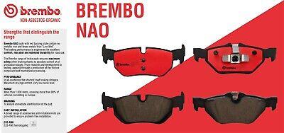 For Honda CR-V 02-04 Rear Brake Disc Rotors w// Brake Pads Kit Brembo OEM
