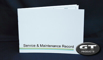 RANGE ROVER SERVICE BOOK SERVICE HISTORY RECORD LOG BOOK REPLACEMENT