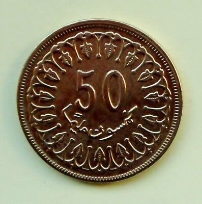 Tunesien     50 Milliemes 1960 # II.