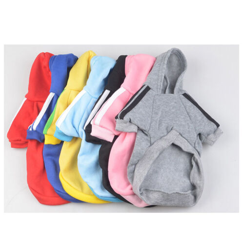 Cute Medium M Pink Adidog Hoodies For Male Small Dogs Outfits Apparel Cheap US 7