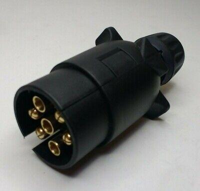 7 Pin Trailer Plug & Socket Plastic 12V 12N Towing Car Van Maypole MP23B & MP21B 7