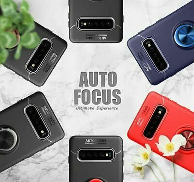 Samsung Galaxy S10 Plus S10E Luxury Magnetic 360 Ring Holder Phone Case Cover 4
