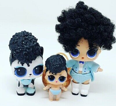 LOL Surprise! Lil Miss Jive Doll Little Sister Ball COLOR CHANGER Complete NEW! 4