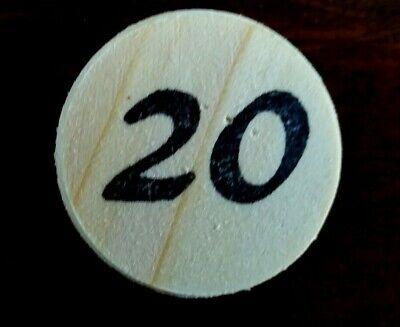 Eselspiel ~ 121 Spielsteine aus Holz ~ Alles Handarbeit Neu 2