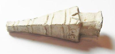 Zurqieh -Ancient Egypt - Greek Inscribed Votive Lead Vessel. 300 B.c 5