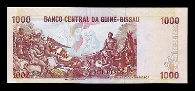 B-D-M Guinea Bissau 1000 Pesos 1993 Pick 13b SC UNC 2