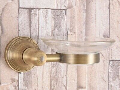 Antique Brass Wall Mounted Soap Dish Holder Bathroom Accessories Zba168 3